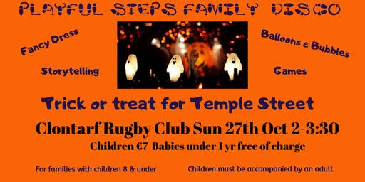 Playful Steps Halloween Disco: Trick or Treat for Temple Street