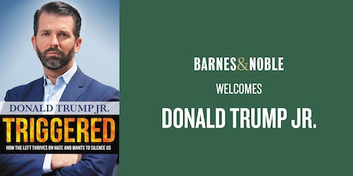 Donald Trump Jr. at Barnes & Noble The Villages