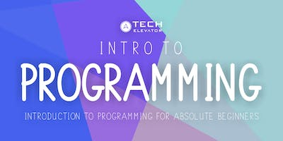 Intro to Programming - Pittsburgh