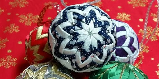No Sew Christmas Bauble - School of Sew