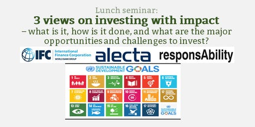 3 views on investing with impact