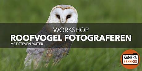 Workshop Roofvogels Fotograferen tickets