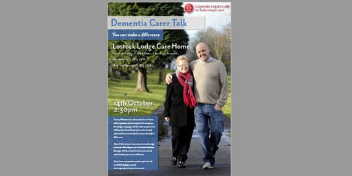Dementia Carer Talk: Tommy Whitelaw