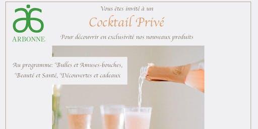 Evenement Cocktail VIP- Arbonne