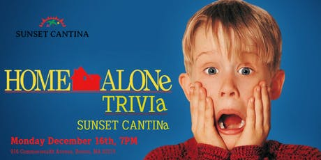 Home Alone Trivia at Sunset Cantina tickets