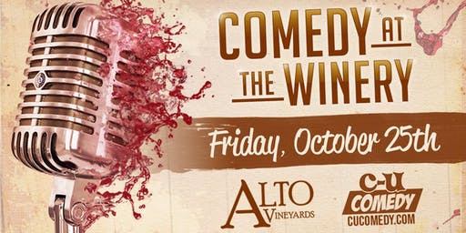 Comedy at the Winery