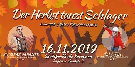 Der Herbst tanz Schlager Tickets