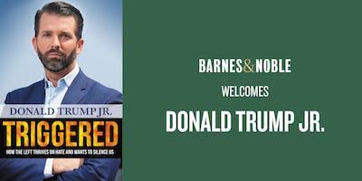 Donald Trump Jr. at Barnes & Noble Palm Beach Gardens