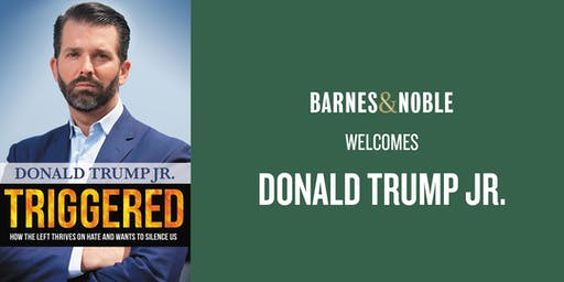 Donald Trump Jr. at Barnes & Noble Palm Beach Gardens