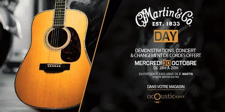 Martin Day (avec Chris F. Martin) | Acoustic & Jazz billets