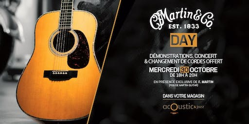 Martin Day (avec Chris F. Martin) | Acoustic & Jazz
