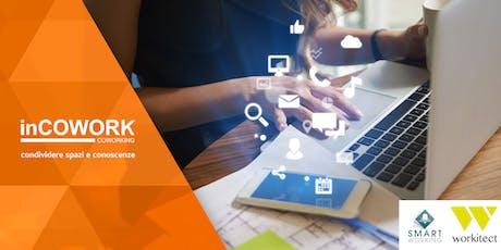 Spazi, tecnologie e comportamenti: l'evoluzione dello Smart Working biglietti