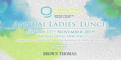 Annual Ladies Lunch in aid of Galway RCC