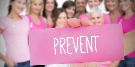 Breast cancer is preventable! Tips to prevent breast cancer. ONLINE tickets