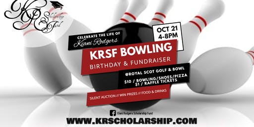 Kiani Rodgers Scholarship Fund Bowling Party