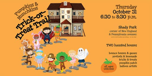 Pumpkin and Munchkins Trick or Treat Trail