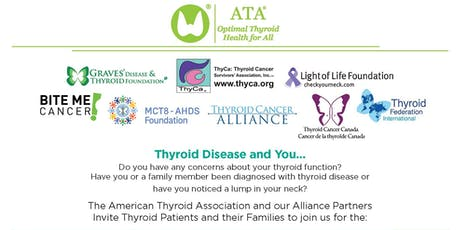ATA Alliance for Thyroid Patient Education presents the 2019 Health Forum tickets