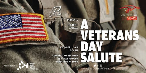 The Desert Winds: A Veterans Day Salute