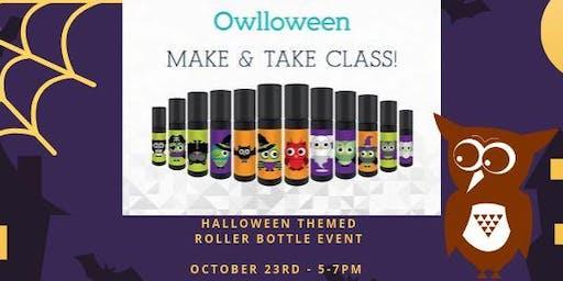 Owlloween - Halloween Themed Roller Bottles