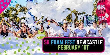 The 5K Foam Fest - Newcastle tickets