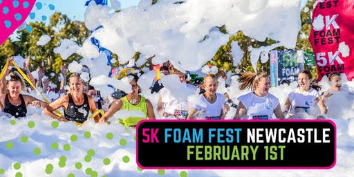 The 5K Foam Fest - Newcastle