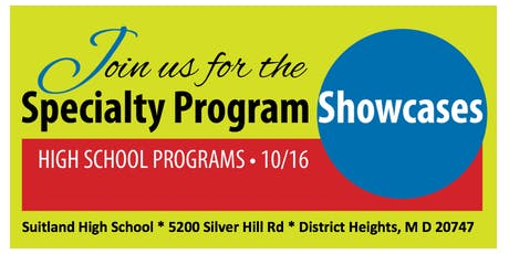 Prince George's County Public Schools High School Specialty Showcase tickets