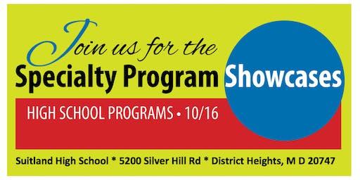 Prince George's County Public Schools High School Specialty Showcase