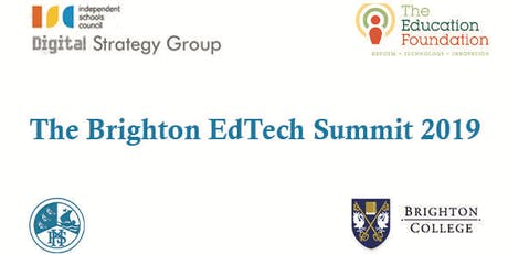 The Brighton EdTech Summit 2019 tickets