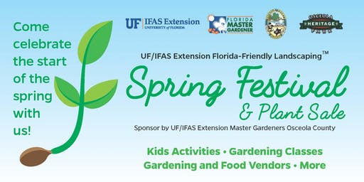 Spring Garden Festival - Join US On- Saturday, February 29 -  9:00am - 3:00pm