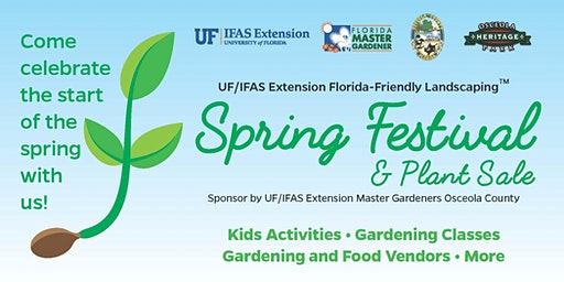 Plant Sale & Festival- *Vendors* register here! (Event is free and open to the public) - Saturday, February 29 -  9:00am - 3:00pm