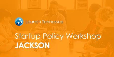 LaunchTN Startup Policy Workshop: Jackson tickets
