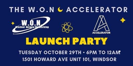 W.O.N Launch Party  Invitation To Bizz & Fizz