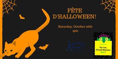 French Storytime and Halloween Fête!