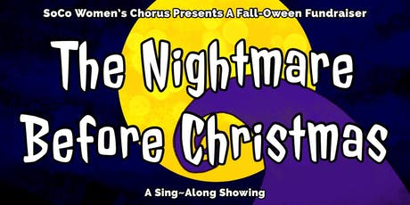 The Nightmare Before Christmas Fall-Oween Fundraiser tickets