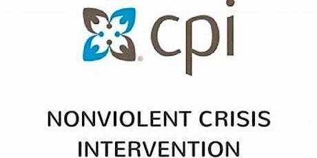 Nonviolent Crisis Intervention (NVCI) FLEX 2-day Certificate Course tickets
