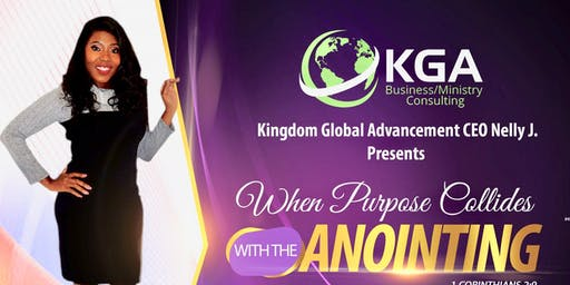 """KGA presents """"When purpose collides with the Anointing"""""""