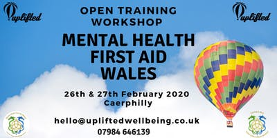 MHFA - Mental Health First Aid Training 26th&27th Feb 2020