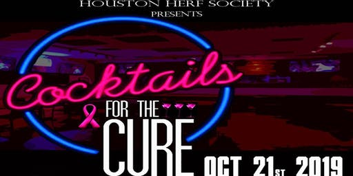 Houston Herf Society Presents Cocktails for the Cure