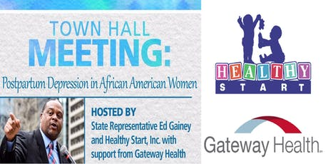 Town Hall Meeting: Postpartum Depression in African American Women tickets