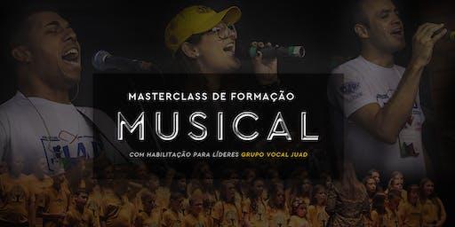 Masterclass Formação Musical + Curso de Capacitação de Líderes GVJ