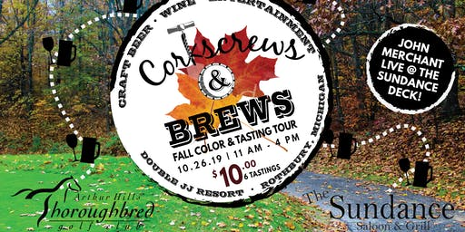 Corkscrews & Brews Fall Color & Tasting Walk
