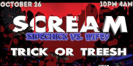 SCREAM - TRICK OR TREESH tickets