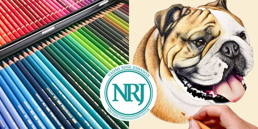Draw an English Bulldog in Colour Pencils!