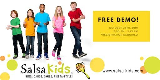 Salsa Kids - Winter Demo