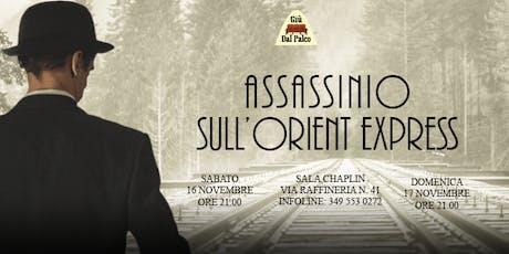 Assassinio sull'Orient Express - Spettacolo teatrale biglietti