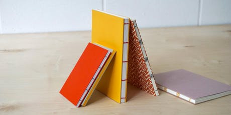 Introduction to Bookbinding 3: Exposed Spine Binding tickets