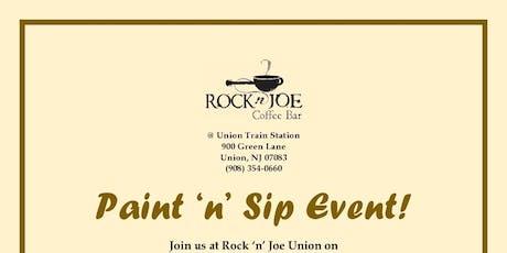 Paint n Sip  at Rock' n Joe Coffee tickets
