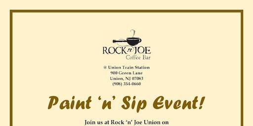 Paint n Sip  at Rock' n Joe Coffee