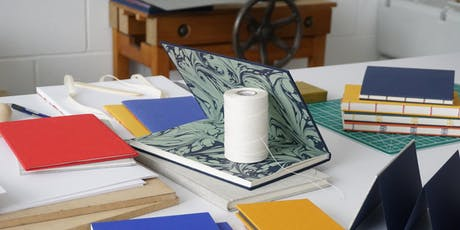 Introduction to Bookbinding 4: Round-back Case Binding tickets