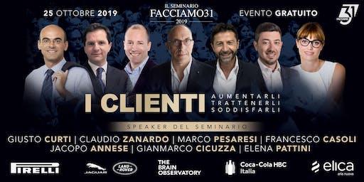 """""""I Clienti"""" Il Seminario 2019 Facciamo31"""